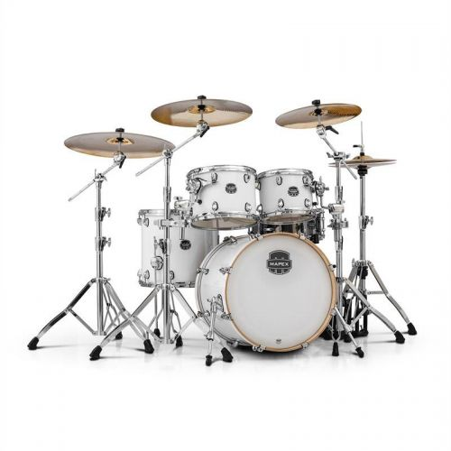 MAPEX AR504S-OW - ARMORY 5 KESSEL FUSION 20 ARTIC WHITE (OHNE HARDWARE)