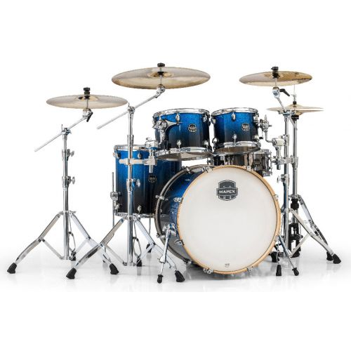 MAPEX AR529S-BI - ARMORY 5 KESSEL STAGE ROCK 22 PHOTON BLUE (OHNE HARDWARE)