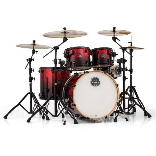MAPEX AR529S-BNV - ARMORY 5 KESSEL STAGE ROCK 22 MAGMA RED (OHNE HARDWARE)
