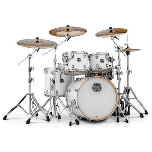 MAPEX AR529S-OW - ARMORY 5 KESSEL STAGE ROCK 22 ARTIC WHITE (OHNE HARDWARE)