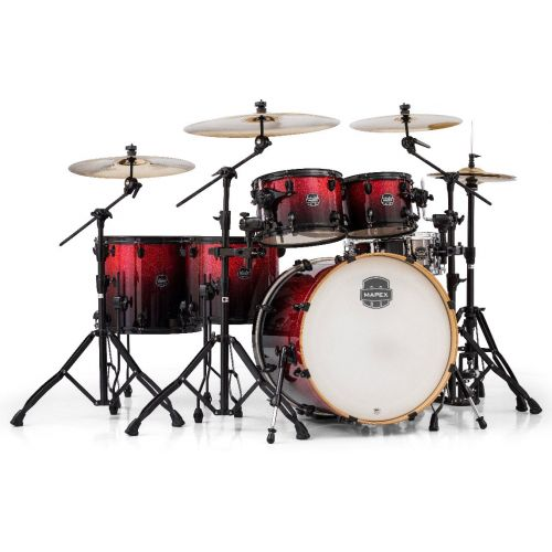 MAPEX 628SF-BNV - ARMORY 6 KESSEL ROCK STUDIOEASE MAGMA RED (OHNE HARDWARE)