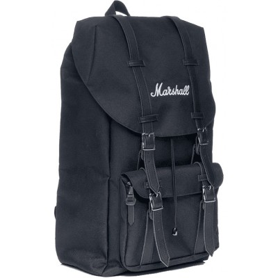 MARSHALL SAC A DOS RUNAWAY BLACK WHITE