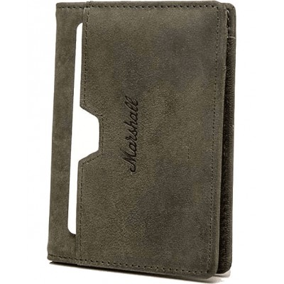 MARSHALL WALLET SUEDEHEAD LEATHER OLIVE
