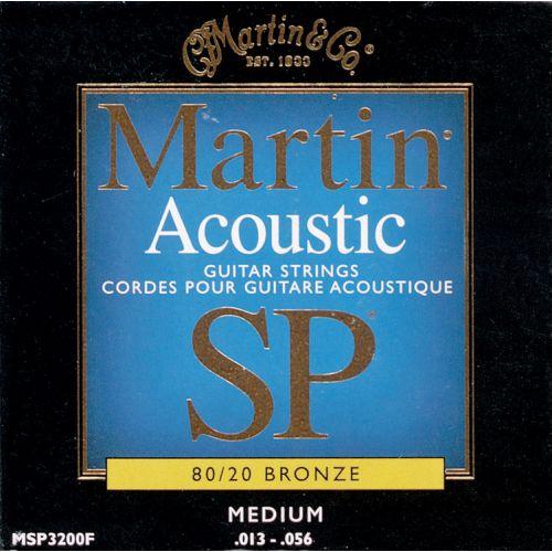 MARTIN GUITARS SP 3200 MEDIUM 13 56 ACOUSTIC SET