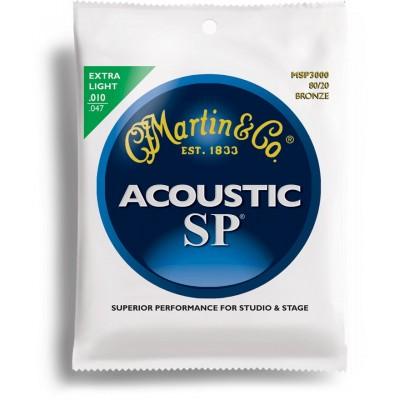 MARTIN GUITARS SP 3000 EXTRA LIGHT 10 14 23 30 39 47