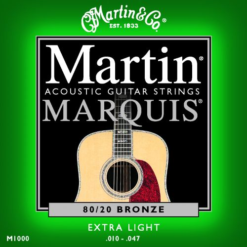 MARTIN GUITARS M1000 MARQUIS BRONZE 80/20 EXTRA LIGHT 10-47