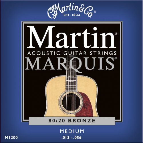 MARTIN GUITARS M1200 MARQUIS BRONZE 80/20 MEDIUM 13-56