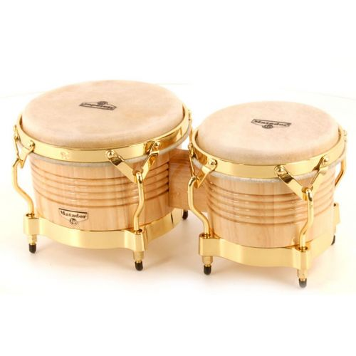 LP LATIN PERCUSSION M201/AW - BONGOS MATADOR NATURAL
