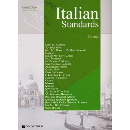 VOLONTE&CO ITALIAN STANDARDS 24 SONGS - PVG