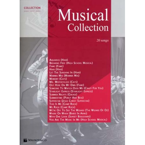 VOLONTE&CO MUSICAL COLLECTION 20 SONGS - PVG