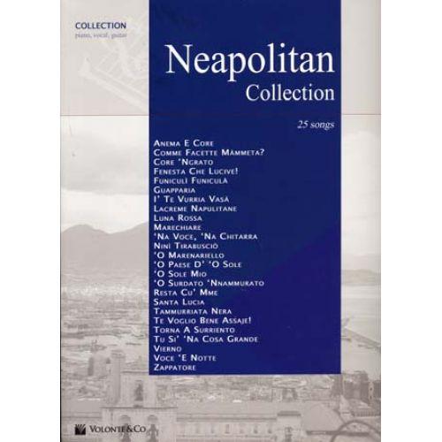 VOLONTE&CO NEAPOLITAN COLLECTION 25 SONGS - PVG