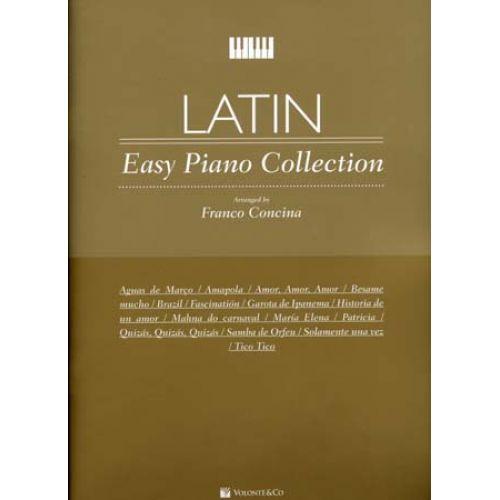 VOLONTE&CO LATIN EASY PIANO COLLECTION
