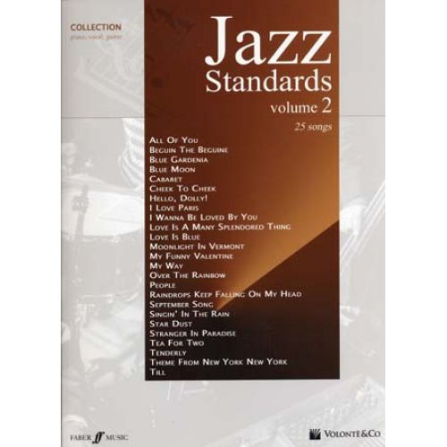 VOLONTE&CO JAZZ STANDARDS VOL.2 25 SONGS - PVG