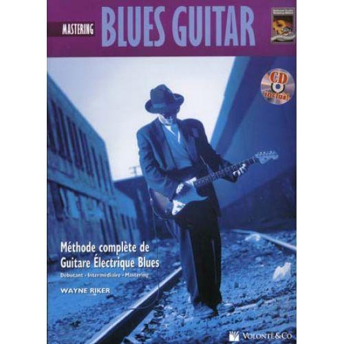 VOLONTE&CO BLUES GUITAR MASTERING + CD - DAVID HAMBURGER