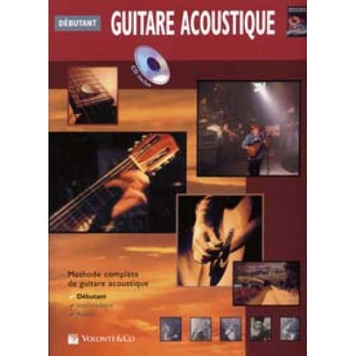 VOLONTE&CO GUITARE ACOUSTIQUE DEBUTANT CD