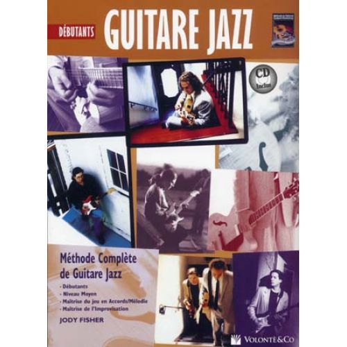 VOLONTE&CO GUITARE JAZZ DEBUTANTS + CD - FISHER JODY