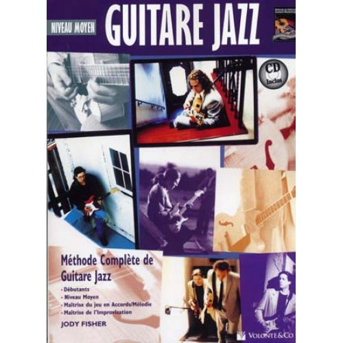 VOLONTE&CO FISHER JODY - GUITARE JAZZ MOYEN + CD - GUITARE