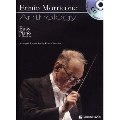 VOLONTE&CO MORRICONE - ANTHOLOGY + CD - EASY PIANO