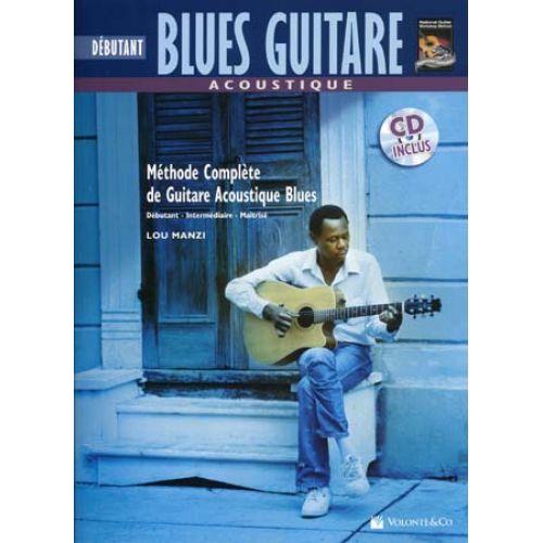 VOLONTE&CO BLUES GUITARE ACOUSTIQUE DEBUTANT + CD - GUITAR TAB