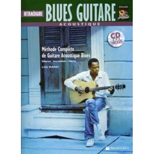 VOLONTE&CO BLUES GUITARE ACOUSTIQUE INTERMEDIAIRE + CD - GUITAR TAB