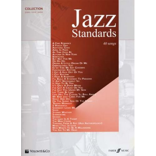 VOLONTE&CO JAZZ STANDARDS COLLECTION 40 SONGS - PVG