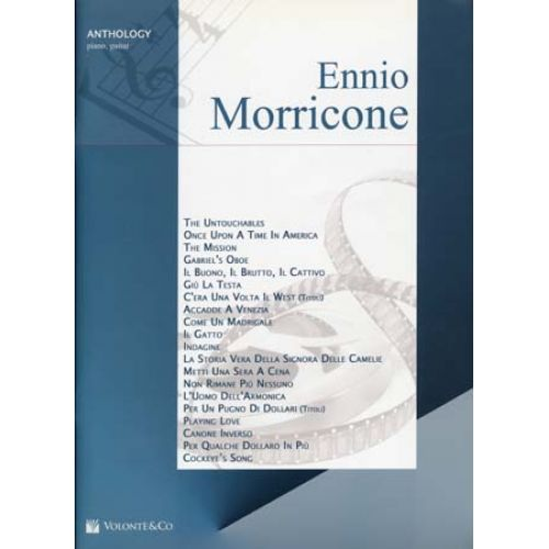 VOLONTE&CO MORRICONE ENNIO ANTHOLOGY - PIANO, GUITARE