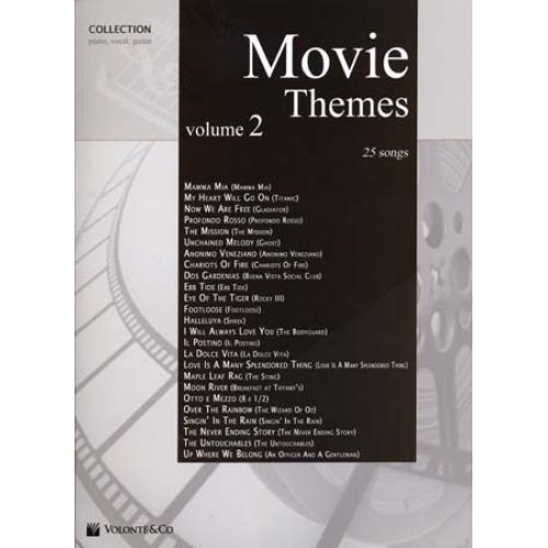 VOLONTE&CO MOVIE THEMES COLLECTION VOL.2 25 SONGS - PVG