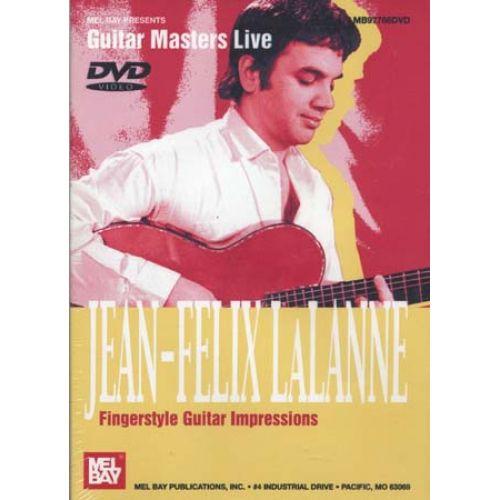MEL BAY DVD GUITAR MASTERS LIVE LALANNE JEAN-FELIX