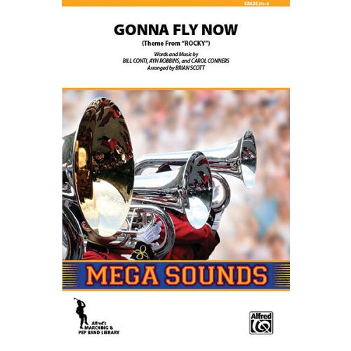 ALFRED PUBLISHING CONTI BILL - GONNA FLY NOW ROCKY - SCORE AND PARTS