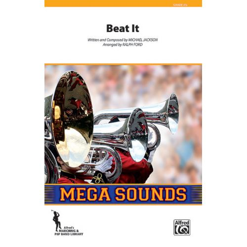 ALFRED PUBLISHING JACKSON MICHAEL - BEAT IT - SCORE AND PARTS