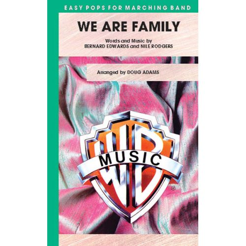 ALFRED PUBLISHING ADAMS DOUG - WE ARE FAMILY - SCORE AND PARTS