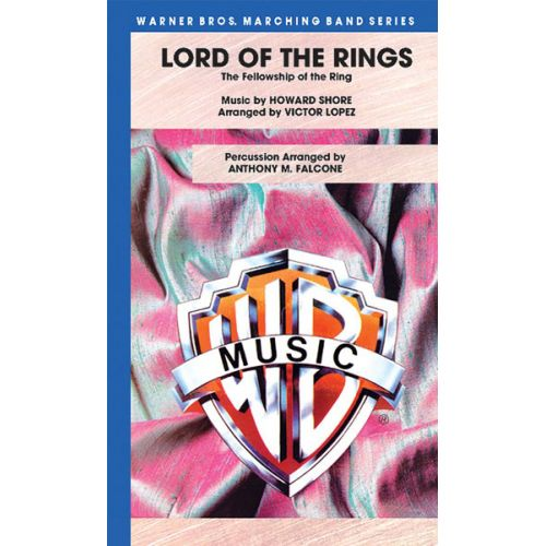 ALFRED PUBLISHING SHORE HOWARD - LORD OF THE RINGS: FELLOWSHIP RING - SCORE AND PARTS