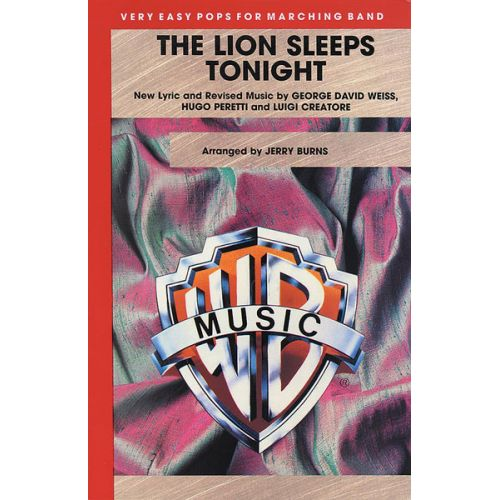 ALFRED PUBLISHING BURNS JERRY - LION SLEEPS TONIGHT - SCORE AND PARTS