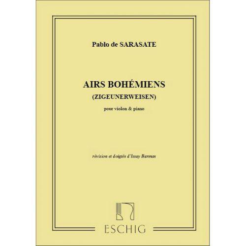 EDITION MAX ESCHIG SARASATE - AIRS BOHEMIENS - VIOLON ET PIANO