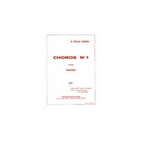 EDITION MAX ESCHIG VILLA LOBOS H. - CHOROS N 1 - GUITARE