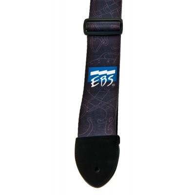 EBS EBS NYLON/LONG-LEATHER VIKING RUNES STRAP
