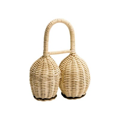 MEINL DOUBLE SHAKER WICKER