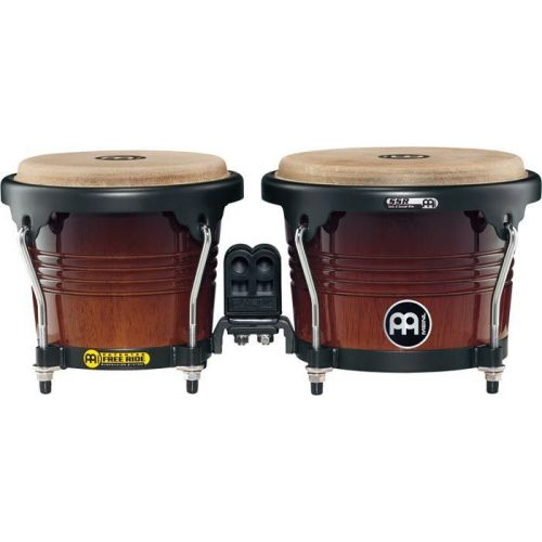 MEINL FREERIDE SERIES FWB190 WOOD BONGOS (PATENTED IN GERMANY) 6 3/4
