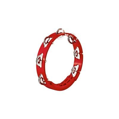 MEINL HTT8R - TAMBOURINE ABS RED 20CM 1R CYMB