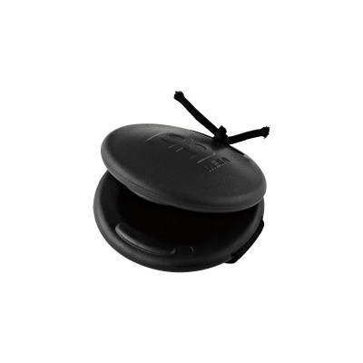MEINL CAJON RING CASTANET LARGE PLASTIC BLACK