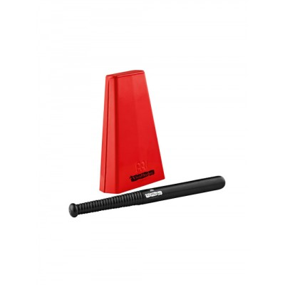 MEINL HAND COWBELL - RED - INCLUDING BEATER