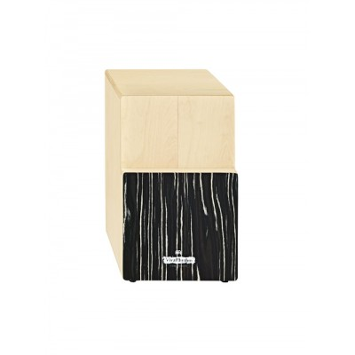 MEINL TRI TONE CAJON - BIRCH WOOD - WITH STRIPED ONYX FRONTPLATE