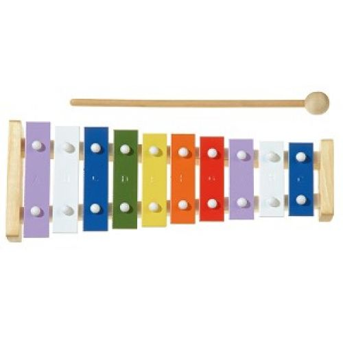 NEW CLASSIC TOYS METALLOPHONE 10 NOTES
