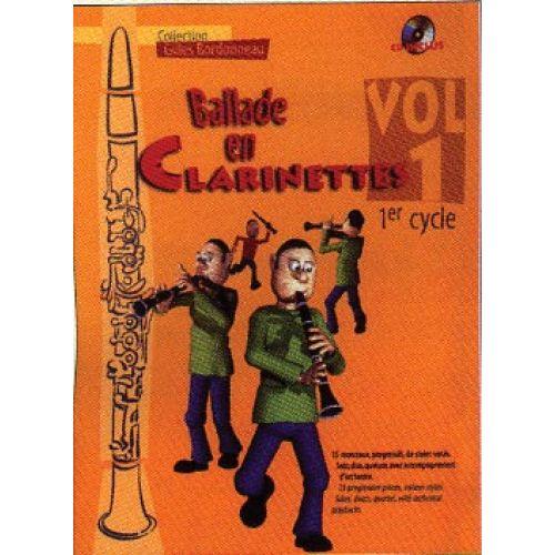 HIT DIFFUSION BALLADE EN CLARINETTE VOL.1 1ER CYCLE + CD