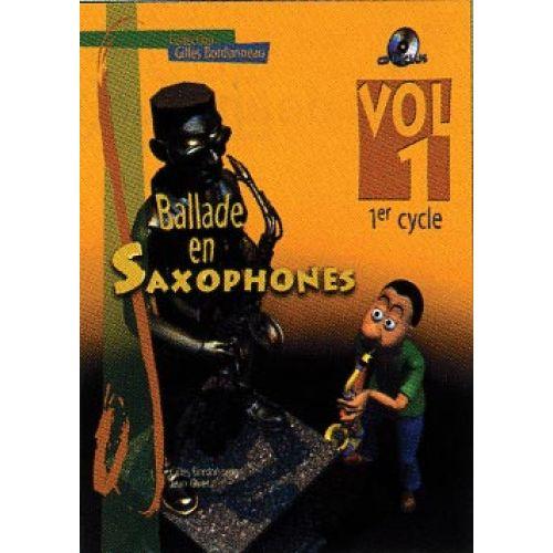 HIT DIFFUSION BALLADE EN SAXOPHONE VOL.1 1ER CYCLE + CD