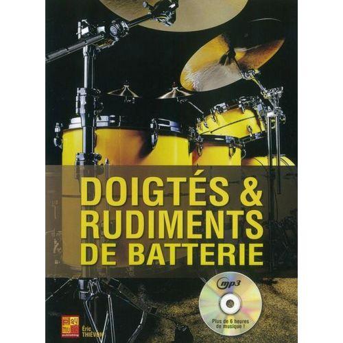 PLAY MUSIC PUBLISHING THIEVON ERIC - DOIGTES ET RUDIMENTS DE BATTERIE + CD