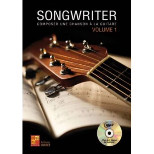 PLAY MUSIC PUBLISHING HUCHET ANTHONY - SONGWRITER VOL.1 + CD