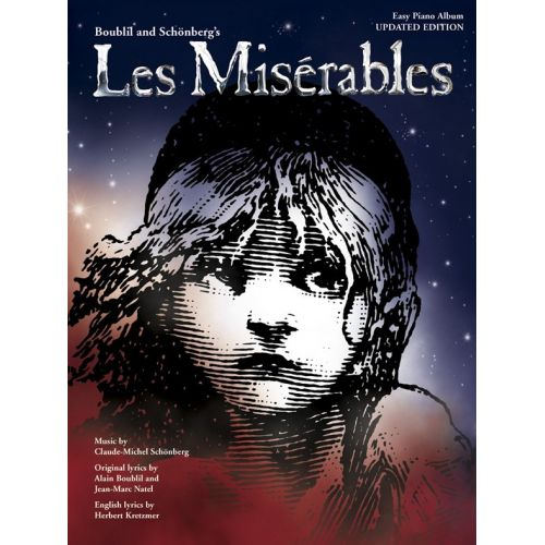MUSIC SALES LES MISERABLES - EASY PIANO