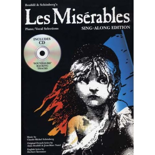 WISE PUBLICATIONS LES MISERABLES SING ALONG EDITION + CD - PVG