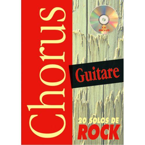 PLAY MUSIC PUBLISHING DEVIGNAC EMMANUEL - CHORUS 20 SOLOS DE ROCK + CD - GUITARE TAB
